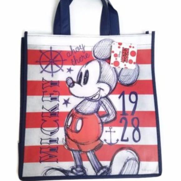 809aa49ac1 Disney Mickey Mouse Reusable Tote Bag